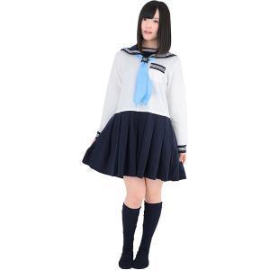 BIBILAB SLC-10S-17 白/紺/水色 [セラコレ合服(セーラー服パジャマ・JK型)]|aprice