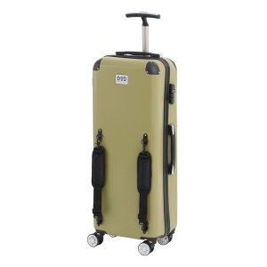 DOPPELGANGER CC1-514 カーキ キャンパーノ・コロコーロ [スーツケース(58L/TSAロック搭載)]|aprice