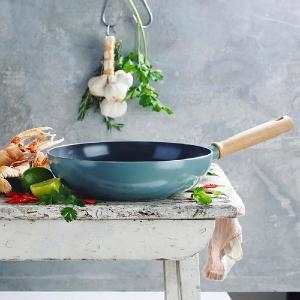 GREEN PAN CC001904-001 メイフラワー ウォックパン 28cm IH対応|aprice