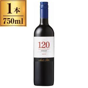 ワイン 赤ワイン チリ 120(シェント ベインテ)メルロー 750ml wineの商品画像|ナビ