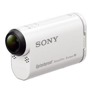 ソニー (SONY) ビデオカメラ 小型 デジタルビデオカメラ アクションカム フルハイビジョン (フルHD) ホワイト HDR-AS200V