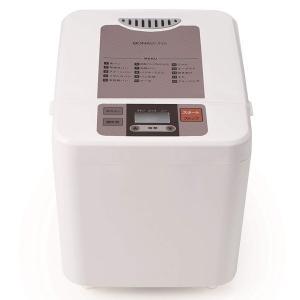 CCP BY-B68-WH ホームベーカリー(1斤タイプ) ホワイト 白 簡単 タイマー機能 米粉パ...