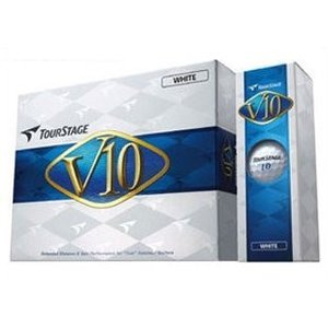 BRIDGESTONE ブリヂストン ツアーステージV10(2012) ゴルフボール 12個入り ホワイト|aprice