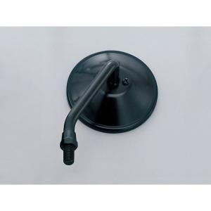 デイトナ D47555 [ショートステムミラー ラウンド 左側 10mm ブラック]|aprice