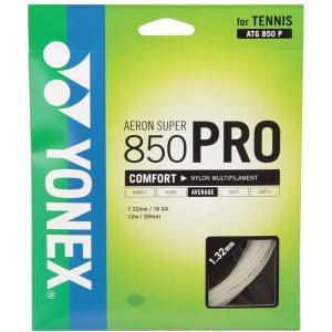 ヨネックス ATG850P ホワイト エアロンスーパー850プロ テニス ストリング(単張)