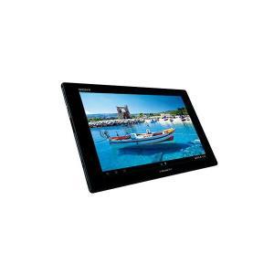 SONY SO-03E ブラック Xperia Tablet Z SIMフリーモデル Androidタブレット 10.1型液晶 32GB 防水 フルセグ TV シムフリー ネット鑑賞 お風呂 軽量 薄型