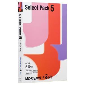モリサワ Font Select Pack 5 PC用 M019452 フォント集(Windows&...