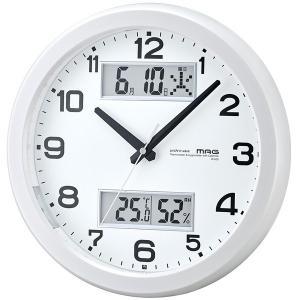 ノア精密 W-630PW MAG [電波掛け時計 (ダブルスライト)]|aprice