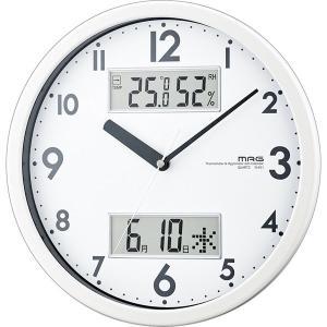 ノア精密 W-631WH ホワイト MAG [掛け時計 (ダブルメジャー)]|aprice
