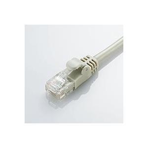 ライトグレー 2m Cat6準拠 配線スッキリ 取り回しがしやすいGigabit やわらかLANケー...