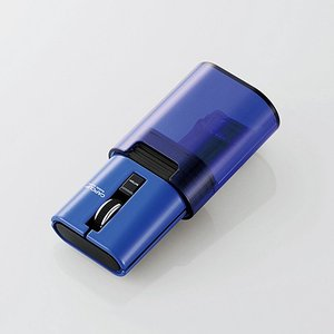エレコム 静音 キャップクリップ ワイヤレス マウス 無線 Bluetooth (ブルートゥース) ...