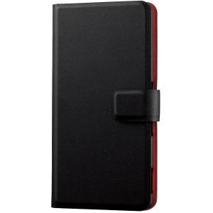 ELECOM PM-SOZ4PLFSNBK ブラック [Xperia(TM) Z4用薄型ソフトレザーカバー] aprice