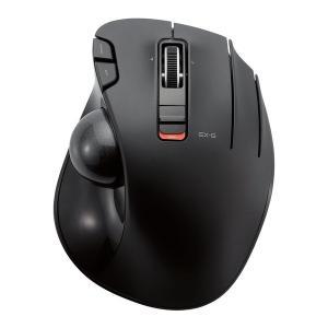 ELECOM M-XT3DRBK トラックボールマウス WEB通販限定 親指 6ボタン チルト機能 ...