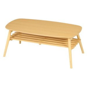 不二貿易 折れ脚センターテーブル 6310-19SKV NA|aprice