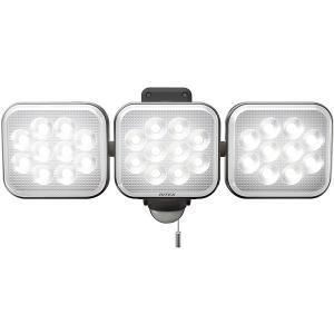 ムサシ LED-AC3036 RITEX フリーアーム式LEDセンサーライト 12W×3灯