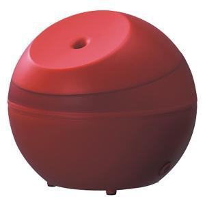 アピックス AHD-064-RD カーマインレッド [超音波式アロマ加湿器(木造3畳/コンクリ6畳まで)]