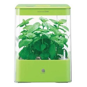 (ポイント2倍) ユーイング UH-CB01G1(G) グリーン GreenFarm CUBE(グリーンファーム キューブ) [水耕栽培器]