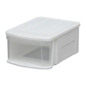 アイリスオーヤマ チェストI SSS ホワイト クリア 収納ボックスの商品画像|ナビ