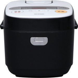 アイリスオーヤマ RC-MC50-B ブラック 米屋の旨み 銘柄炊き マイコン炊飯器(5.5合炊き)