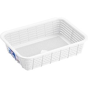 リス H&H キッチンバスケット S WGHAH342 ホワイトの画像