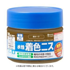 水性着色ニス 新オーク 100ML #00697653632100 カンペハピオ(直送品)の商品画像|ナビ