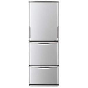 冷蔵庫 シャープ SHARP SJ-W351E シルバー 350L 右開き 左開き 両開き どっちもドア プラズマクラスター 3ドア 同棲 カップル|aprice