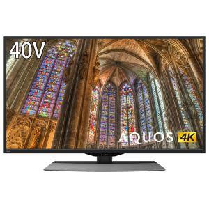 SHARP 4T-C40BJ1 AQUOS 40V型 地上・BS・110度CSデジタル 4K対応 液晶テレビ|aprice