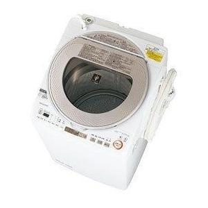 SHARP ES-TX9A-N ゴールド系 タテ型洗濯乾燥機 (9.0kg)|aprice