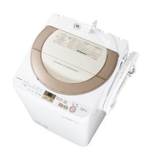 SHARP ES-GE7A-N ゴールド系 [全自動洗濯機 (洗濯7.0kg)]