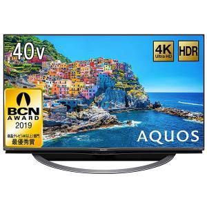 SHARP 4T-C40AJ1 AQUOS 40V型地上・BS・110度CSデジタル 4K対応LED液晶テレビ|aprice