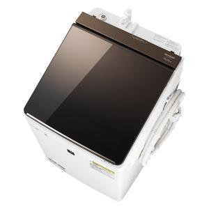 洗濯機 シャープ SHARP ES-PT10C 白 ホワイト ブラウン おしゃれ 洗濯10kg 乾燥5kg 光るタッチナビ|aprice