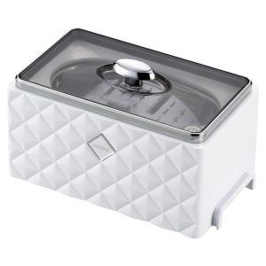 超音波洗浄機 ツインバード TWINBIRD EC-4548W 洗浄器 アクセサリー 貴金属 メンテナンス 腕時計 眼鏡