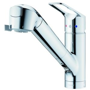 タカギ JL307MN-9NL202 みず工房クリーン 蛇口一体型浄水器 シングルレバー混合栓(ワン...