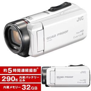 JVC GZ-R400-W パールホワイト Everio R...