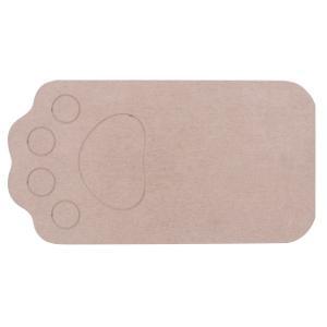 ベストコ ND-9151 さらっと 珪藻土マット 46×24.5cm ブラウン ペット用 洗える