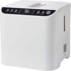 ユアサプライムス YHN-1200B-W ホワイト スチームファン式加湿器(木造20畳まで/プレハブ洋室33畳まで)|XPRICE PayPayモール店