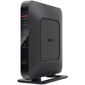 BUFFALO WSR-1166DHP4-BK ブラック AirStation 無線LANルータ(1...