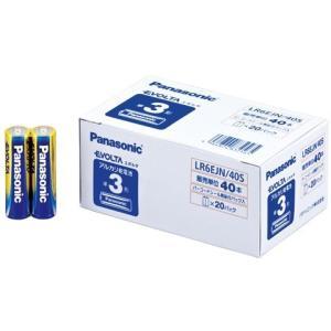 PANASONIC 1318-LR6EJN/40S エボルタ乾電池 単3 40本入