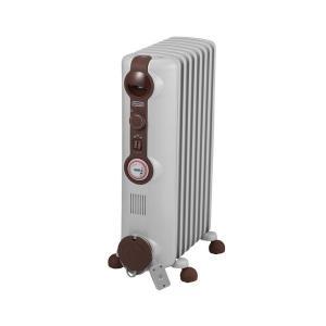 デロンギ(Delonghi) JR0812-BR ホワイト+ブラウン [オイルヒーター(8〜10畳)...
