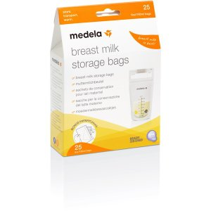 Medela 8.0407 母乳保存バッグ 25枚入り の商品画像|ナビ