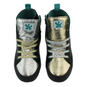 キッズ シューズ 靴 CHOOZE チューズ  ハイカットスニーカー Spark Rule 男の子 女の子 キッズ ベビー 箔 ゴールド ラメ  ダンス apricos