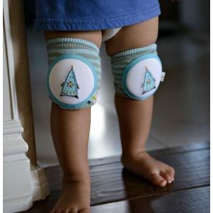 CRAWLINGS ニーパッド ロケット ベビー ニーパッド 膝当て サポーター ギフト プレゼント 出産祝い プレミアムコットン インポート 赤ちゃん|apricos