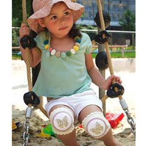 CRAWLINGS ニーパッド バタフライ ベビー ニーパッド 膝当て サポーター ギフト プレゼント 出産祝い プレミアムコットン インポート 赤ちゃん|apricos