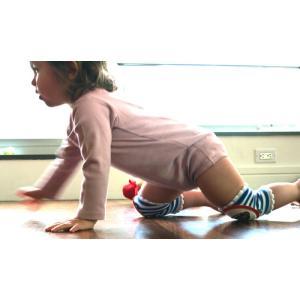 CRAWLINGS ニーパッド アメフト ラグビー ベビー ニーパッド 膝当て サポーター ギフト プレゼント 出産祝い プレミアムコットン インポート 赤ちゃん|apricos