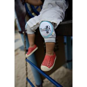 CRAWLINGS ニーパッド エアプレイン ベビー ニーパッド 膝当て サポーター 飛行機 ギフト プレゼント 出産祝い プレミアムコットン インポート 赤ちゃん|apricos