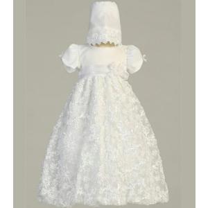 ベビードレス セレモニードレス インポート Lito リト 新生児セレモニードレス Amber 女の子 退院着 お祝い お宮参り 記念撮影|apricos