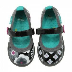 キッズ ベビー ストラップ シューズ 靴 CHOOZE チューズ メリージェーンシューズ Jump Blink  女の子 ワンストラップ 花柄  apricos