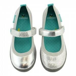 キッズ ベビー ストラップ シューズ 靴 CHOOZE チューズ メリージェーンシューズ Jump Glimmer 女の子 ワンストラップ スパンコール ラメ キラキラ apricos