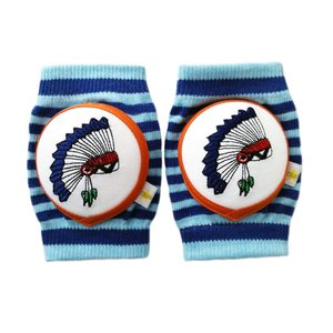 CRAWLINGS ニーパッド インディアン ベビー ニーパッド 膝当て サポーター ギフト プレゼント 出産祝い プレミアムコットン インポート 赤ちゃん|apricos