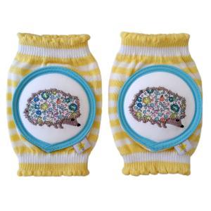 CRAWLINGS ニーパッド ハリネズミ ベビー ニーパッド 膝当て サポーター ギフト プレゼント 出産祝い プレミアムコットン インポート 赤ちゃん|apricos